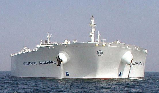全世界最大船 TI级超级油轮