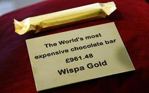 世界上最贵的巧克力块