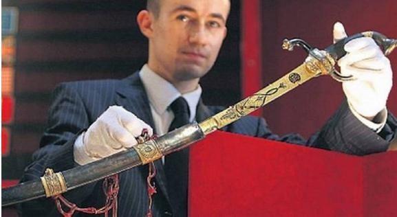Napoleon Bonaparte's Gold-Encrusted Saber