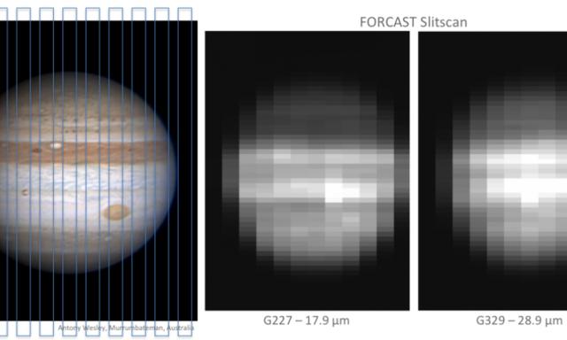 NASA飞行观测台捕捉到的木星图像