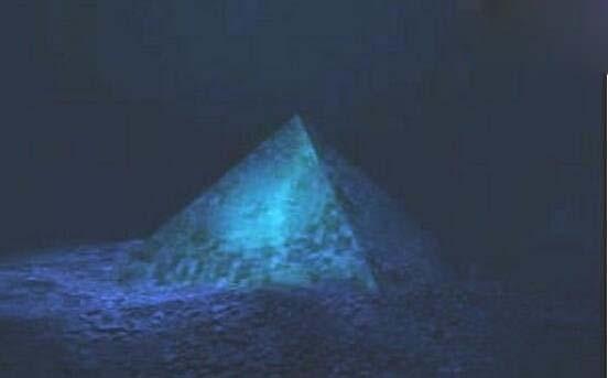 海底金字塔,失落的亚特兰蒂斯古文明遗址