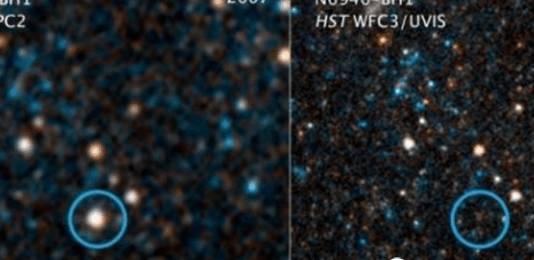 宇宙之中最大的谜团 NASA拍摄到巨型黑洞照片