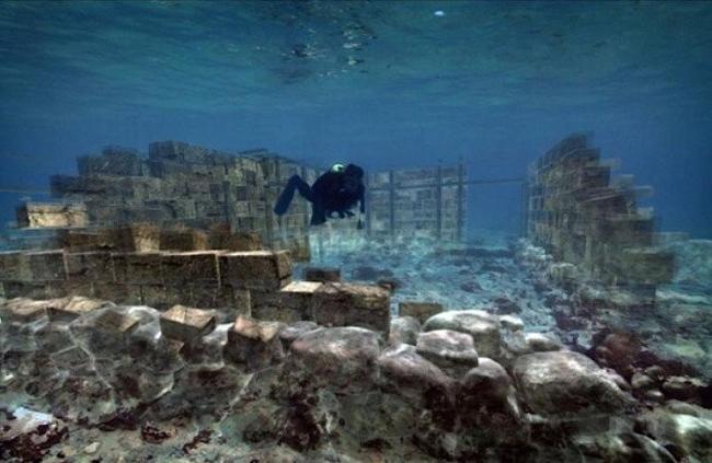 世界六大神秘水下古城,古代文明的遗留