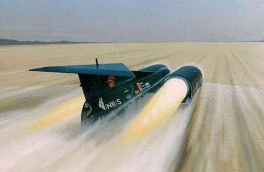 超音速推进号,世界上最快的改装车(时速1228公里)