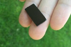 世界最小的净水器,和口香糖一样大(2厘米)