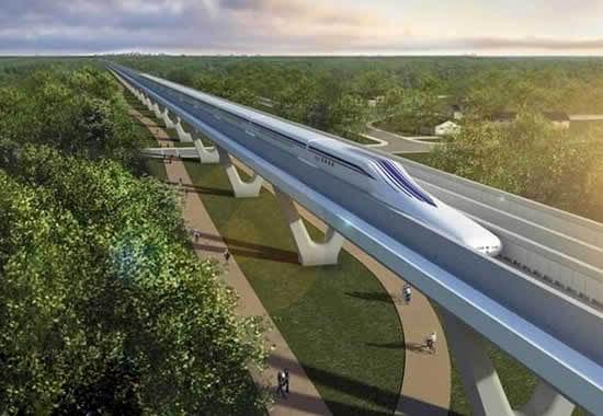 世界上最快的火车,日本磁悬浮列车(603公里)
