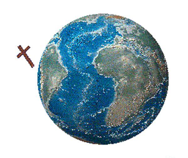 太空中的十字架
