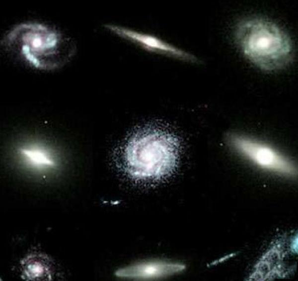 12个宇宙中最为壮观的星系,充满了华丽的宇宙星系图