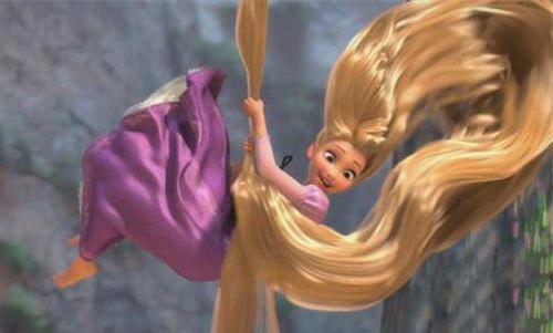 塔上的长发姑娘