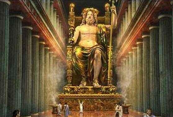 希腊宙斯神像
